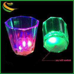 Мигают лампа мигает лампа до чашек снимков светодиодной панели ночной клуб партии напиток наружные кольца подшипников