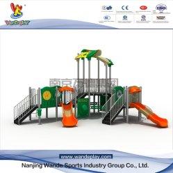 Los niños diapositivas Parque Comercial establece juegos al aire libre para niños