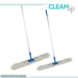 Poignée en aluminium de haute qualité professionnelle en microfibre balai de nettoyage de plancher de coton