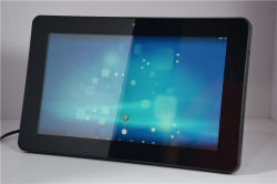 13,3 pouces à écran tactile du panneau Cadre photo numérique du réseau les acteurs de la publicité