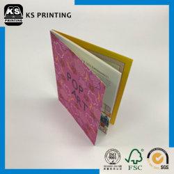 Полноцветный листовки C1s - без Покрытия матовой бумаги служба печати ламинирование