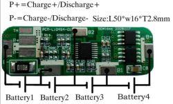 Bonne qualité de la Chine PCM Li-ion 4s BMS Fournisseur PCB 14,8 V