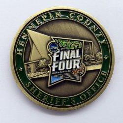 Commerce de gros cadeau promotionnel métal souvenirs défi militaire Coin