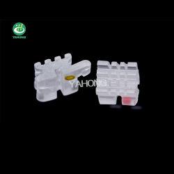 La FDA Ce llaves dentales de cerámica de ortodoncia Mbt Roth soportes periférica