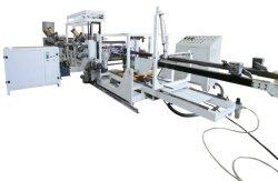 La extrusora de Plástico PP/PS y la máquina de vacío en uno de extrusión, termoformado de plástico de un solo paso la máquina, el cuadro de contenedores de alimentos máquina de formación