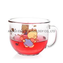 Meilleure vente Restaurant Utiliser de grandes tasses de café latte Tumbler soupe tasse en verre