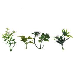 Usine artificiel vert en céramique pour l'intérieur du semoir la pendaison décoration