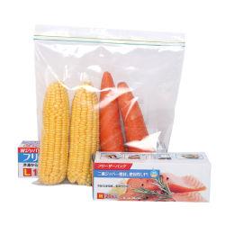 Transparente bolsas Ziplock Reclosable Troqueladas bolsas bolsas de cremallera asa