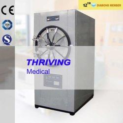 Pression cylindrique horizontal stérilisateur à vapeur Autoclave (THR-150YDB)