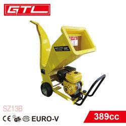 13 CV 4 tiempos de 389cc gasolina Acolchadora biotrituradora Leaf Shredder Shredder (SZ13B)