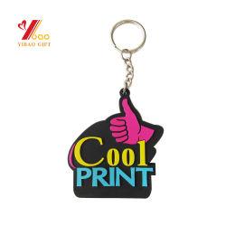 Estilo de juventude alta criativo dom promocionais de moda logotipo personalizado quente 3D PVC maleável de Silicone Chaveiro Cartoon qualquer forma de bola animal suporte chave chaveiro (YB-PK-25)