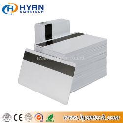 13.56MHz jat de Witte Kaart Plastic RFID van geschikt om gedrukt te worden Hico/van de Knettergekke magnetisch-Streep Kaart voor Hotel