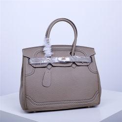 Sac de platine première couche de cuir Sac Briking 30cm avec dentelle couleur de marque de gros sac à main de l'EMG Collision Femmes5657