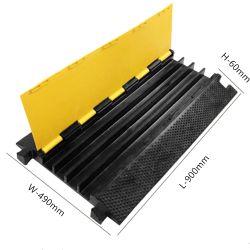 4 チャネルラバーケーブルプロテクタ、ケーブル Defender 、ケーブルブリッジ