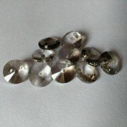 Tour personnalisé de pierres précieuses perles de verre en cristal