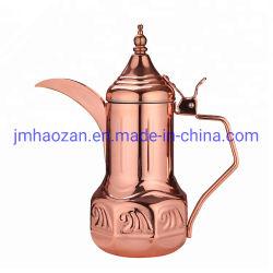 装飾的なアラビアステンレス鋼のやかんの多彩なアラビアDallahのアラビアコーヒー鍋