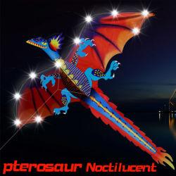 Hengda nouveau best-seller Dragon nuit à LED pour les enfants de cerf-volant
