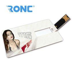 الجملة تخصيص الشعار المعدنية بطاقة الائتمان شكل USB Memory Stick USB USB بلاستيكي فلاش USB