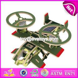 Neues Entwurfs-pädagogisches Flugzeug-Spielzeug-hölzerne Kind-Spielwaren W03b072