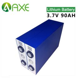 3.2V 90ah em alumínio, bateria de lítio utilizada principalmente em LED, bateria de carro, a energia solar
