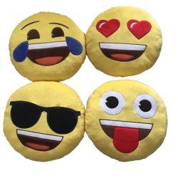 هدية لتعزيز الوسادة الناعمة المحشوة emoji الصغيرة