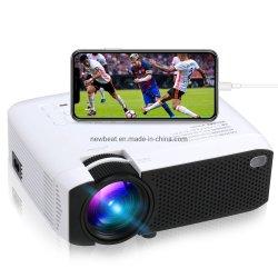 Nb E400s 타전하는 최신 판매 LED 영사기 이동 전화 1080P 가득 차있는 HD를 비추기