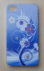 3D-Custom цветочного дизайна с Rhinestone телефона для iPhone 4/4s/5