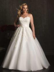 أميرة [بلّ غون] عرس ثوب عاج [أبّليقوس] [أرغنزا] حبيب من كتف زفافيّ سيدات ثوب