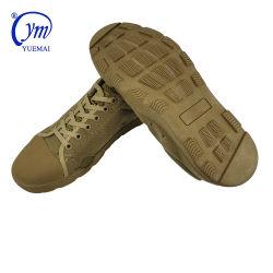 Deporte al aire libre bajo la parte superior del ejército Nynlon transpirable zapatos táctico militar