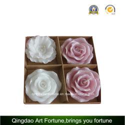 Fleur bougie flottante pour Mariage Décoration Saint Valentin