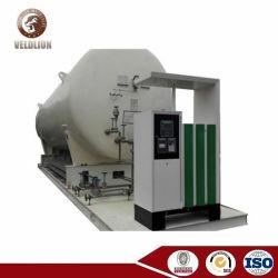 China Fabricación 10cbm Gasolinera automático de la estación de llenado del cilindro de gas