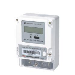Seule la phase active électronique Watt heure compteur d'énergie numérique avec RS485 de l'électricité électromécaniques