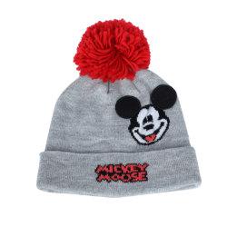 Детей мышь зимние теплые трикотажные Beanie Red Hat/крышка