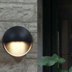 نورديك الحديث بسيط صغير لطيف خارج فناء الحديقة مصابيح LED LED الجدران الخارجية مضادة للماء IP65 الألومنيوم المصبوب