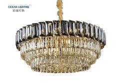 Pendente a cristallo di lusso della lampada di illuminazione della lampada Pendant di illuminazione a cristallo moderna del lampadario a bracci