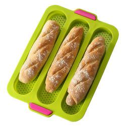 غير عصا سليكوون [فرنش] [بغتّ] رغيف خبز قالب [بكينغ بن] - صينيّة