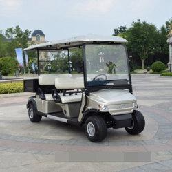 4 roues électriques alimentés par batterie Visites Mini voiturette de golf 2 4 6 8 Sièges 48V 72V 4Kw avec boîte