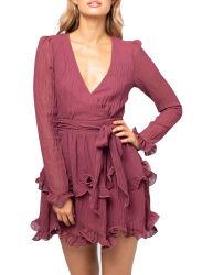 새로운 섹시한 긴팔 여성용 도매 캐주얼 여름 패션 여성 옷