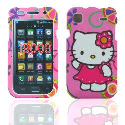 Hello Kitty Case for Samsung I9000 (REDON045)
