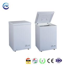 kommerzieller kleiner einzelner tiefer Brust-Kühlraum-Minibrust-Gefriermaschine der Tür-100L mit EdelsteineMeps anerkanntes HD-100