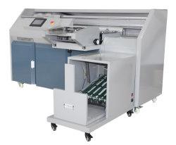 غطاء التغذية التلقائية وربط الغراء من نوع تجميع الكتاب التلقائي الماكينة