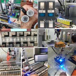 1500W soldadora láser de fibra continua para la soldadura de la batería de litio