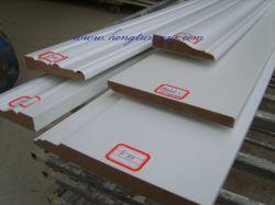 Grundiert Holzsockelleisten (SK-119-225)