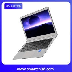 Silberne Batterie der Intel-6+64GB N3350 Laptop-4000mAh mit integriertem Grafikkarte-Notebook-Computer