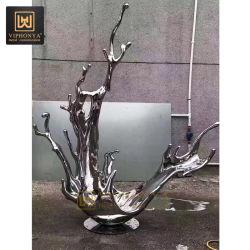 Hôtel moderne de luxe sur mesure Décoration Arts abstraite de la Sculpture de métal