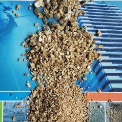 L'horticulture utilisé Golden et de vermiculite Slivery élargi