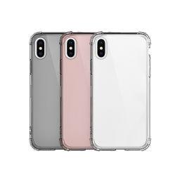 Crystal Clear TPU programável de grau militar à prova caso Telefone Celular Capa para iPhone 11 PRO Max