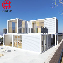 조립식 집 Prefabricated 집 콘테이너 집 휴대용 집 호화스러운 콘테이너 집 이동 주택을%s 다중 질 증명서