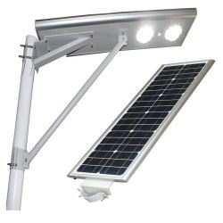 실외 올인원 / 통합형 태양광 LED 스트리트 로드 라이트 패널 및 리튬 배터리가 있는 정원 조명