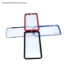 モバイル用ホットセールナノインジェクション Magneto 強化ガラスケース iPhone 11 に電話します